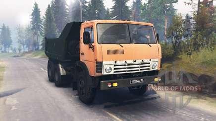 KamAZ 55111 para Spin Tires
