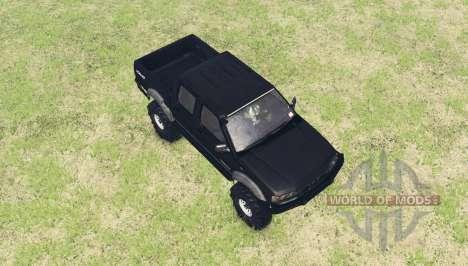 Nissan Navara ST-R Dual Cab (D22) v2.0 para Spin Tires