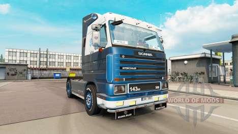 Scania 143M 500 v3.9 para Euro Truck Simulator 2