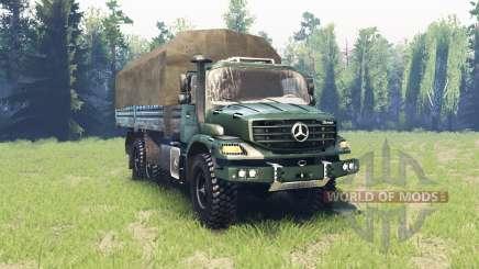 Mercedes-Benz Zetros 2733 A v6.3 para Spin Tires
