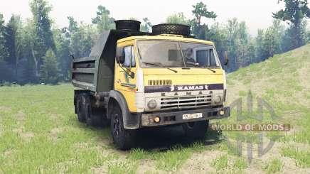 KamAZ 5511 para Spin Tires
