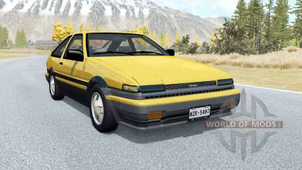 Toyota Corolla GT-S Sport liftback (AE86) 1985 para BeamNG Drive