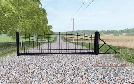Puerta deslizante para Farming Simulator 2017