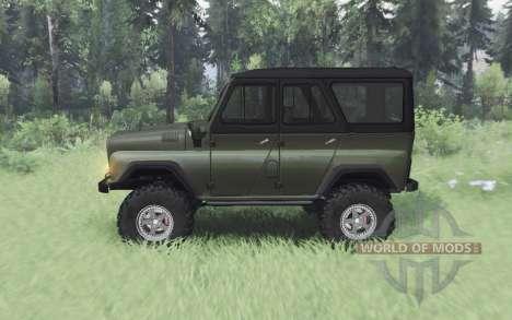 UAZ 469 v1.1 para Spin Tires