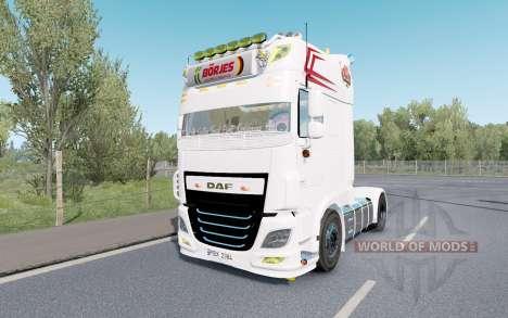 DAF XF Super Space Cab custom para Euro Truck Simulator 2