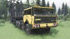 Tatra T813 TP 8x8 1967 v1.4.1 para Spin Tires