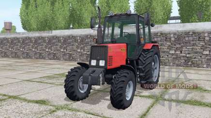 MTZ-952 Belarús con cargador para Farming Simulator 2017