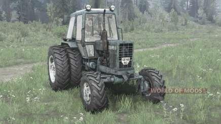 MTZ 82.1 / ruedas duales para MudRunner
