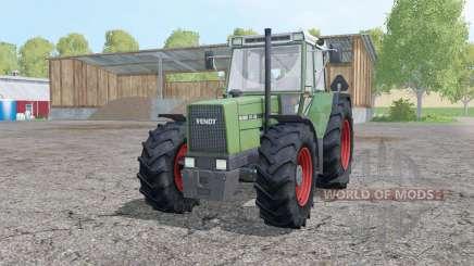 Fendt Favorit 611 LSA Turbomatik E front loader para Farming Simulator 2015