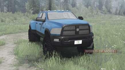 Dodge Ram 3500 Heavy Duty Crew Cab para MudRunner