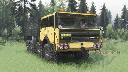 Tatra T813 TP 8x8 1967 v1.3 para Spin Tires