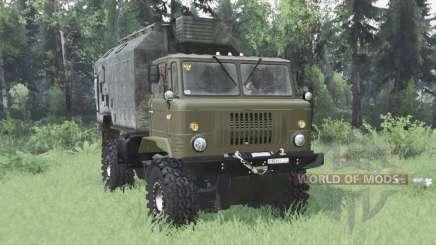 GAZ 66 bastidor articulado v2.0 para Spin Tires