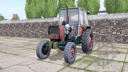 YUMZ 6КЛ con la elección de las ruedas para Farming Simulator 2017
