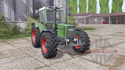 Fendt Favorit 611 LSA Turbomatic E dual rear para Farming Simulator 2017