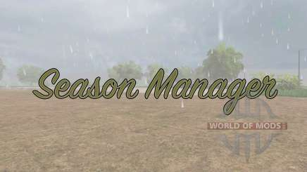 Season Manager v0.6 para Farming Simulator 2017