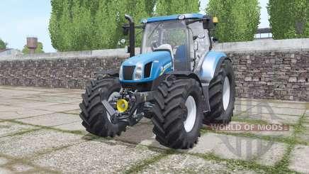 New Holland T6.070 interactive control para Farming Simulator 2017