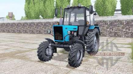 MTZ-82.1 Bielorrusia, con la animación de las partes para Farming Simulator 2017