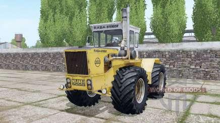 Raba-Steiger 250 double wheels para Farming Simulator 2017