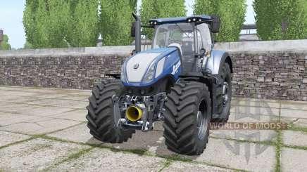 New Holland T7.290 Heavy Duty Blue Power para Farming Simulator 2017