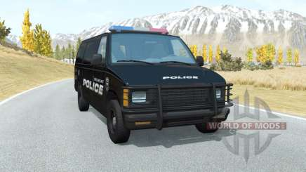 Gavril H-Series Belmont Police para BeamNG Drive