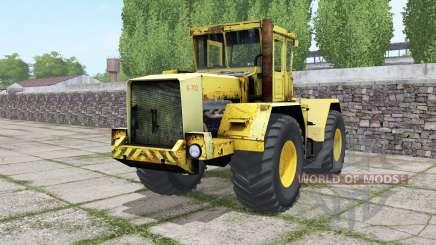 Kirovets K-702 con la elección del motor para Farming Simulator 2017