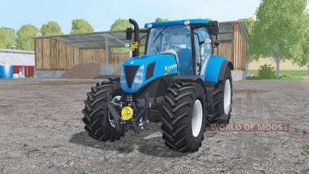 New Holland T7.170 animation parts para Farming Simulator 2015