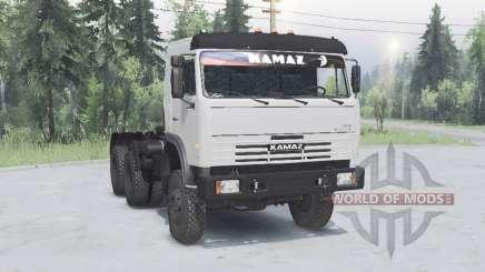 KamAZ 54115 6x6 para Spin Tires