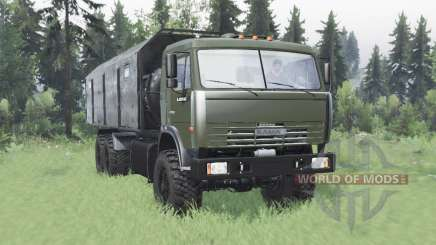 KamAZ 43118 largo de la base para Spin Tires