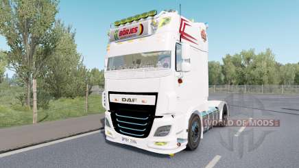 DAF XF Super Space Cab custom para Euro Truck Simulator 2