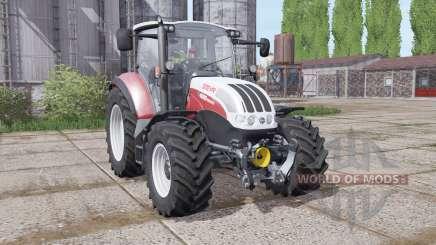 Steyr Multi 4095 2013 dynamic hoses para Farming Simulator 2017