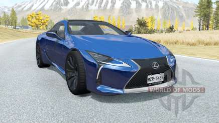 Lexus LC 500 2017 para BeamNG Drive