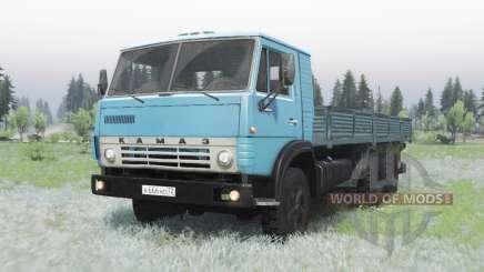 KamAZ 53212 azul para Spin Tires