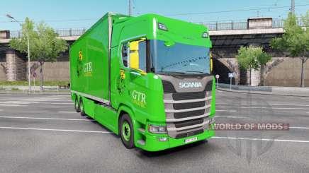 Scania S 730 Highline Tandem v3.0 para Euro Truck Simulator 2