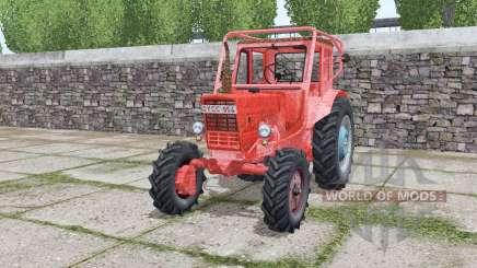 MTZ 52 Belarús rojo para Farming Simulator 2017