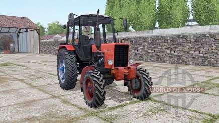 MTZ 82 Belarús animación puertas para Farming Simulator 2017