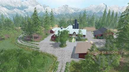 Southern Norway v1.2 para Farming Simulator 2015