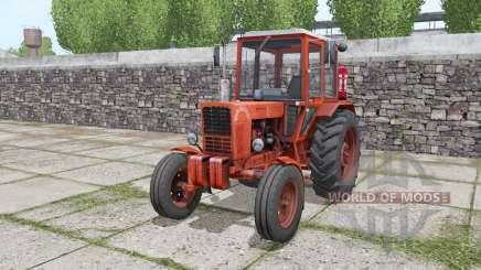 MTZ 80 Belarús tractor de ruedas duales traseras para Farming Simulator 2017