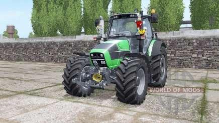 Deutz-Fahr Agrotron 620 TTV interactive control para Farming Simulator 2017