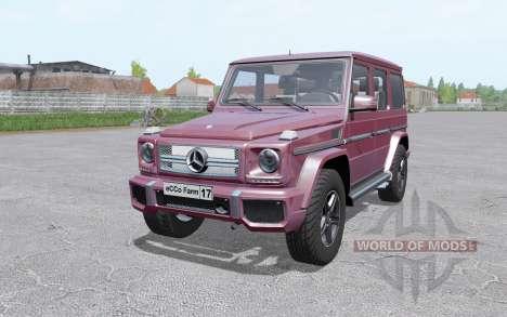 Mercedes-Benz G 65 AMG (W463) 2012 para Farming Simulator 2017
