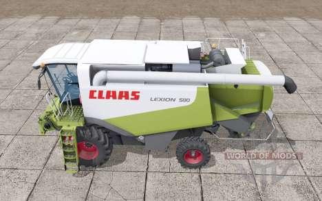 Claas Lexion 580 new real textures para Farming Simulator 2017