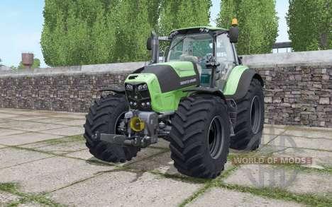 Deutz-Fahr Agrotron 7210 TTV Goodyear tyres para Farming Simulator 2017