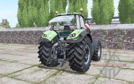 Deutz-Fahr Agrotron 7250 TTV design selection para Farming Simulator 2017