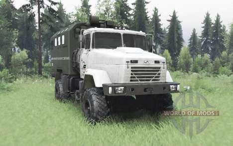 KrAZ 5131 4x4 v6.1 para Spin Tires