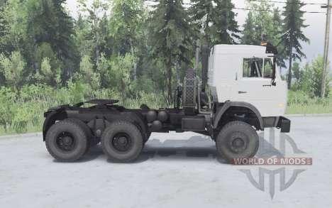 KamAZ 54115 6x6 v1.1 para Spin Tires