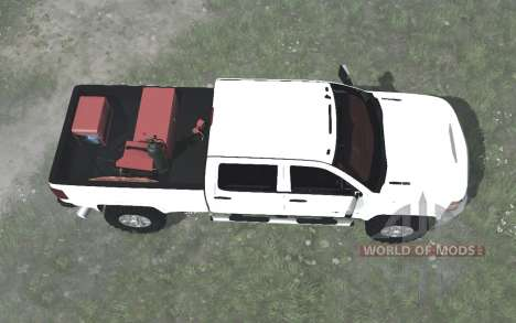 Chevrolet Silverado 3500 HD Crew Cab (GMTK2H) para Spintires MudRunner