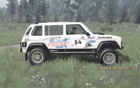Lada Niva (2131) 1995 Rally v1.1 para Spintires MudRunner