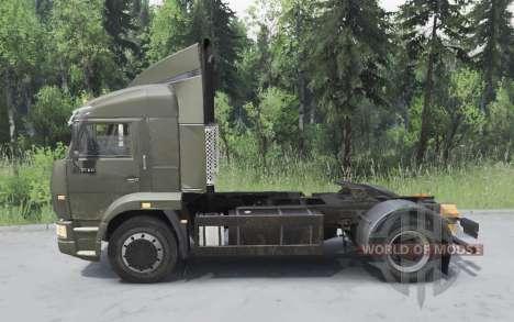 KamAZ 5460 para Spin Tires