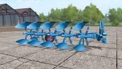Lemken Juwel 7 5 furrows para Farming Simulator 2017