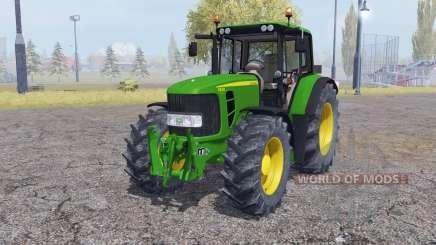 John Deere 6830 Premium interactive control para Farming Simulator 2013