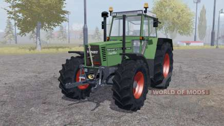 Fendt Favorit 615 LSA Turbomatic double wheels para Farming Simulator 2013